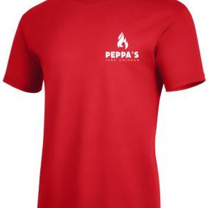 Jeck chicken shirt red