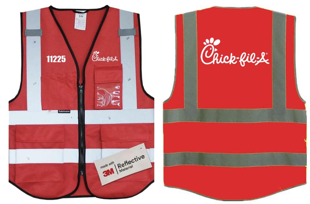 Chick fil A vest