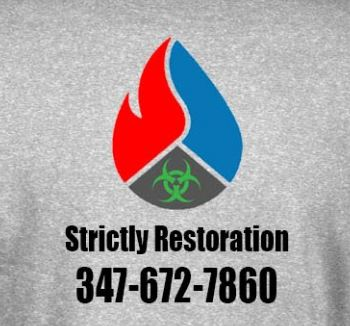 STrictly cleaning restoration logo