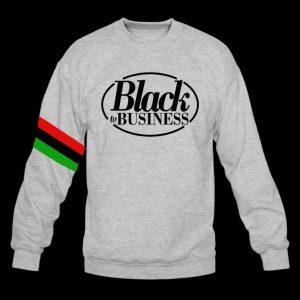 Black business sweatshirt